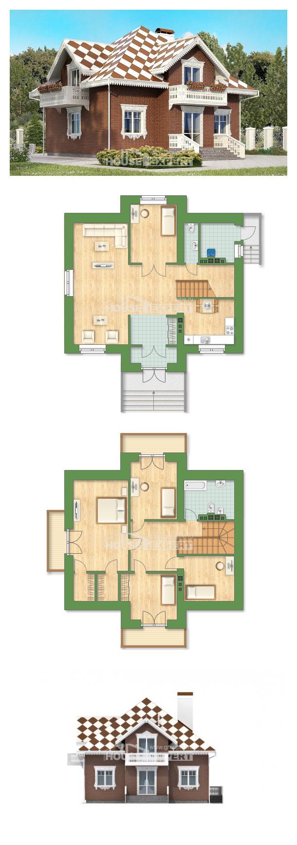 Проект дома 155-003-Л | House Expert